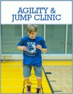 image of a agility and jump basketball clinic held by GTA Training of Toronto