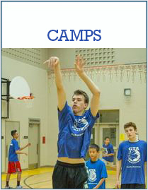 image of a Christmas break or March break camp being held by GTA training torontos premier basketball training academy